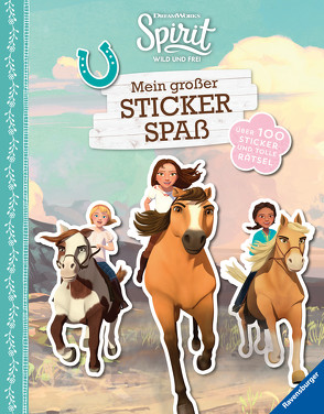 Dreamworks Spirit Wild und Frei: Mein großer Stickerspaß von Hahn,  Stefanie, Super RTL