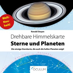Drehbare Himmelskarte Sterne & Planeten von Stoyan,  Ronald