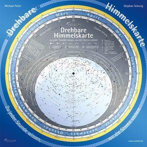 Drehbare Himmelskarte von Feiler,  Michael, Schurig,  Stephan