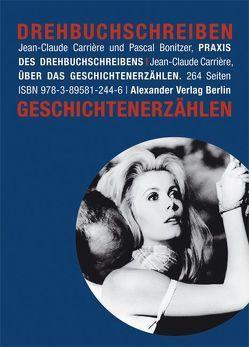 Drehbuchschreiben und Geschichtenerzählen von Alge,  Susanne, Bonitzer,  Pascal, Carriere,  Jean-Claude, Engelhardt,  Barbara