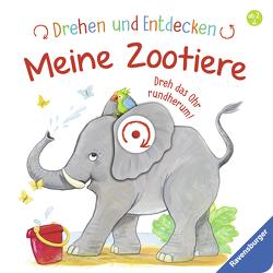 Drehen und Entdecken: Meine Zootiere von Grimm,  Sandra, Kohl,  Martina