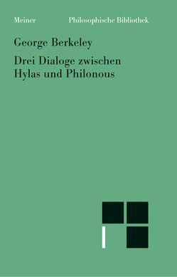 Drei Dialoge zwischen Hylas und Philonous von Berkeley,  George, Kulenkampf,  Arend, Richter,  Raoul