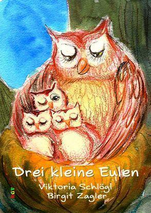 Drei kleine Eulen von Schlögl,  Viktoria, Zagler,  Mag.,  Birgit