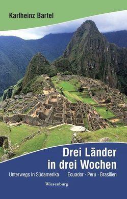 Drei Länder in drei Wochen – Unterwegs in Südamerika von Bartel,  Karlheinz