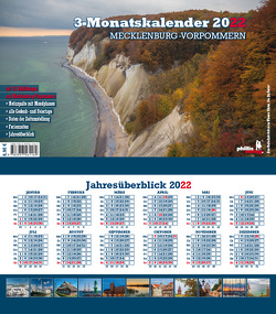 Drei-Monatskalender Mecklenburg-Vorpommern 2022 von Neubert,  Jörg