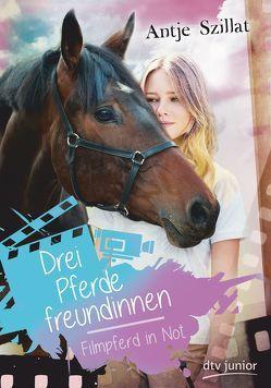 Drei Pferdefreundinnen – Filmpferd in Not von Szillat,  Antje