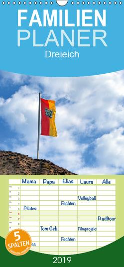 Dreieich – Familienplaner hoch (Wandkalender 2019 , 21 cm x 45 cm, hoch) von Rank,  Claus-Uwe