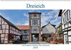 Dreieich vom Frankfurter Taxifahrer Petrus Bodenstaff (Wandkalender 2019 DIN A2 quer) von Bodenstaff,  Petrus