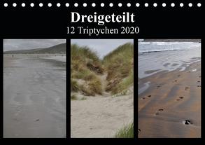 Dreigeteilt – 12 Triptychen 2020 (Tischkalender 2020 DIN A5 quer) von Franz,  Ingrid