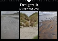 Dreigeteilt – 12 Triptychen 2020 (Wandkalender 2020 DIN A4 quer) von Franz,  Ingrid