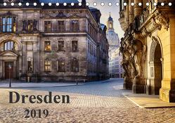 Dresden 2019 (Tischkalender 2019 DIN A5 quer) von Meutzner,  Dirk