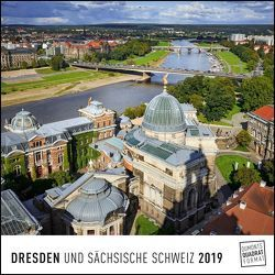 Dresden 2019 – Wandkalender – Quadratformat 24 x 24 cm von DUMONT Kalenderverlag, Fotografen,  verschiedenen