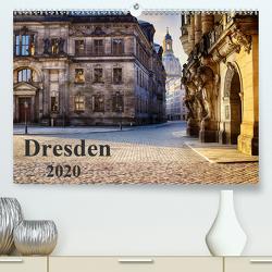 Dresden 2020 (Premium, hochwertiger DIN A2 Wandkalender 2020, Kunstdruck in Hochglanz) von Meutzner,  Dirk