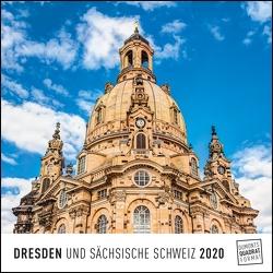Dresden 2020 – Wandkalender – Quadratformat 24 x 24 cm von DUMONT Kalenderverlag, Fotografen,  verschiedenen