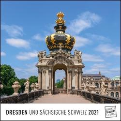 Dresden 2021 – Wandkalender – Quadratformat 24 x 24 cm