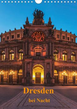 Dresden bei Nacht (Wandkalender 2020 DIN A4 hoch) von Kirsch,  Gunter