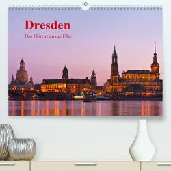 Dresden, das Florenz an der Elbe / CH-Version (Premium, hochwertiger DIN A2 Wandkalender 2020, Kunstdruck in Hochglanz) von Kirsch,  Gunter