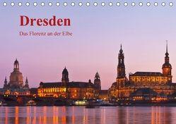 Dresden, das Florenz an der Elbe / CH-Version (Tischkalender 2018 DIN A5 quer) von Kirsch,  Gunter