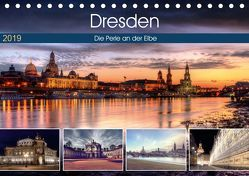 Dresden Die Perle an der Elbe (Tischkalender 2019 DIN A5 quer) von Gierok,  Steffen
