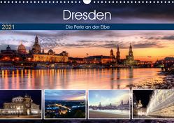 Dresden Die Perle an der Elbe (Wandkalender 2021 DIN A3 quer) von Gierok,  Steffen