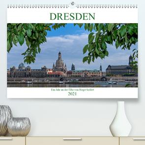 Dresden, ein Jahr an der Elbe (Premium, hochwertiger DIN A2 Wandkalender 2021, Kunstdruck in Hochglanz) von Seifert,  Birgit