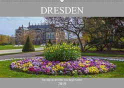 Dresden, ein Jahr an der Elbe (Wandkalender 2019 DIN A2 quer) von Seifert,  Birgit