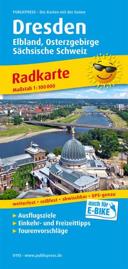 Dresden, Elbland, Osterzgebirge, Sächsische Schweiz