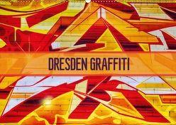 Dresden Graffiti (Wandkalender 2018 DIN A2 quer) von Meutzner,  Dirk