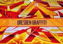 Dresden Graffiti (Wandkalender 2018 DIN A4 quer) von Meutzner,  Dirk
