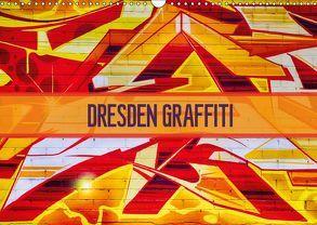 Dresden Graffiti (Wandkalender 2019 DIN A3 quer) von Meutzner,  Dirk