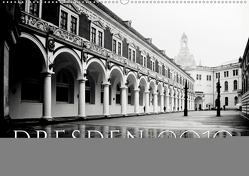 Dresden in Schwarzweiss (Wandkalender 2019 DIN A2 quer) von Fuhg,  Dorit