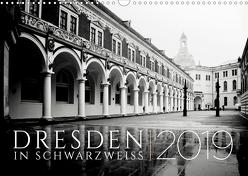 Dresden in Schwarzweiss (Wandkalender 2019 DIN A3 quer) von Fuhg,  Dorit
