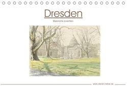 Dresden – Malerische Ansichten (Tischkalender 2018 DIN A5 quer) von Netkal,  Atelier