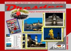 DRESDEN – Tischkalender – Ewiger Kalender – Dauerkalender – Jahreskalender – Terminkalender von Sültz,  Renate, Sültz,  Uwe H.