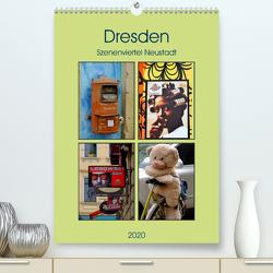 Dresdner Szenenviertel Neustadt (Premium, hochwertiger DIN A2 Wandkalender 2020, Kunstdruck in Hochglanz) von Nordstern