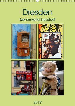 Dresdner Szenenviertel Neustadt (Wandkalender 2019 DIN A2 hoch) von Nordstern