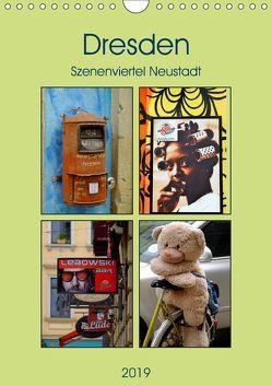 Dresdner Szenenviertel Neustadt (Wandkalender 2019 DIN A4 hoch) von Nordstern