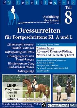 Dressurreiten für Fortgeschrittene KL.A/L – Advanced Dressage Riging Novice and Elemantary Level von Putz,  Michael