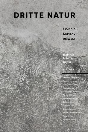 Dritte Natur 2 von Langenohl,  Andreas, Langner,  Beatrix, Lehnert,  Christian, Liggieri,  Kevin, Richter,  Steffen, Scho,  Sabine, Sommer,  Volker, Trawny,  Peter