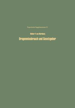 Drogenmissbrauch und Gesetzgeber von Wartburg,  W.P.v.