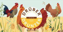 Drüber & Drunter – Tiere von Bachhausen,  Ursula, Baumann,  Anne-Sophie, Dupont,  Clémence