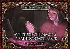 DSA5 Spielkartenset Aventurische Magie 2 Traditionsartefakte von Spohr,  Alex