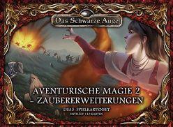 DSA5 Spielkartenset Aventurische Magie 2 Zaubererweiterungen von Spohr,  Alex
