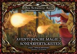 DSA5 Spielkartenset Aventurische Magie 3- Sonderfertigkeiten von Kaub,  Johannes, Spohr,  Alex, Talkenberg,  Fabian
