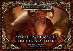 DSA5 Spielkartenset Aventurische Magie 3-Traditionsartefakte von Kaub,  Johannes, Sphor,  Alex, Talkenberg,  Fabian