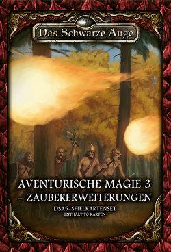 DSA5 Spielkartenset Aventurische Magie 3- Zaubererweiterung von Kaub,  Johannes, Spohr,  Alex, Talkenber,  Fabian