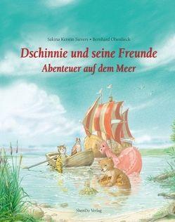 Dschinnie und seine Freunde – Abenteuer auf dem Meer von Oberdieck,  Bernhard, Sievers,  Sakina Kerstin