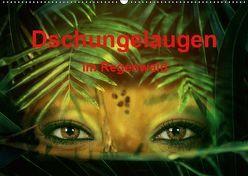 Dschungelaugen im Regenwald (Wandkalender 2019 DIN A2 quer) von Brunner-Klaus,  Liselotte