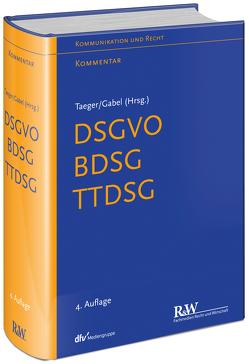 DSGVO – BDSG von Gabel,  Detlev, Taeger,  Jürgen