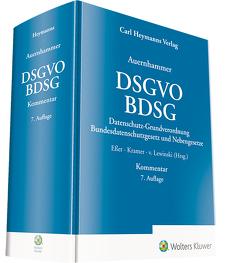 DSGVO/ BDSG von Eßer,  Dr. Martin, Kramer,  Dr. Philipp, von Lewinski,  Dr. Kai